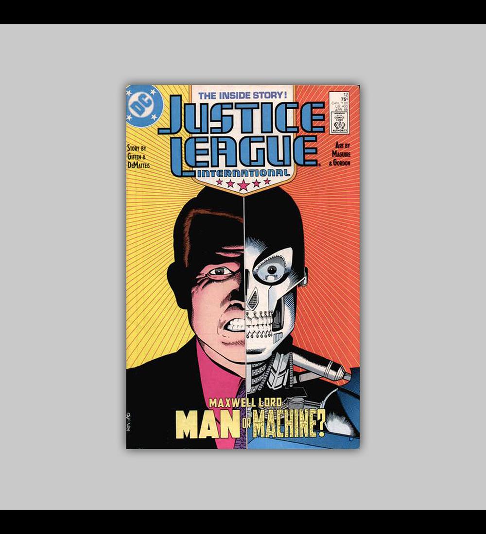 Justice League International 12 1988