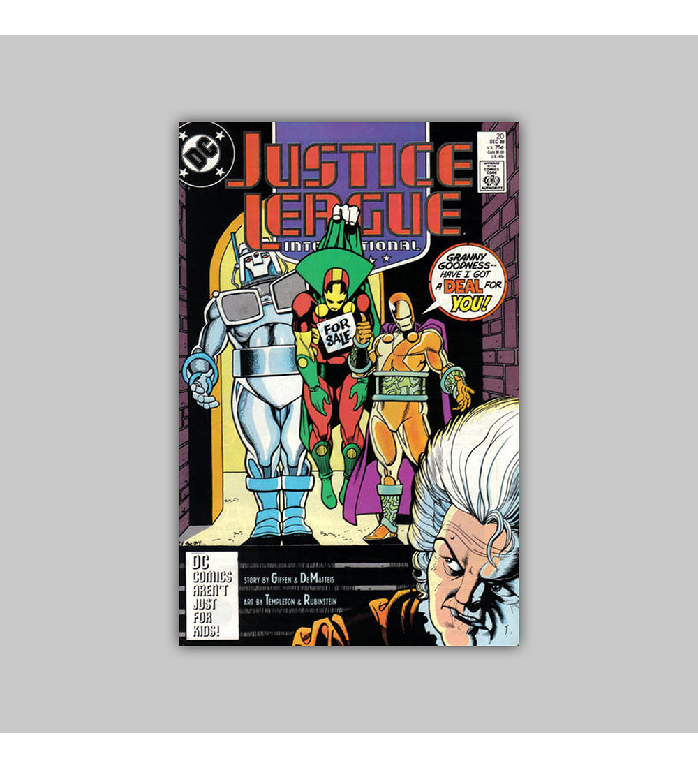 Justice League International 20 2005