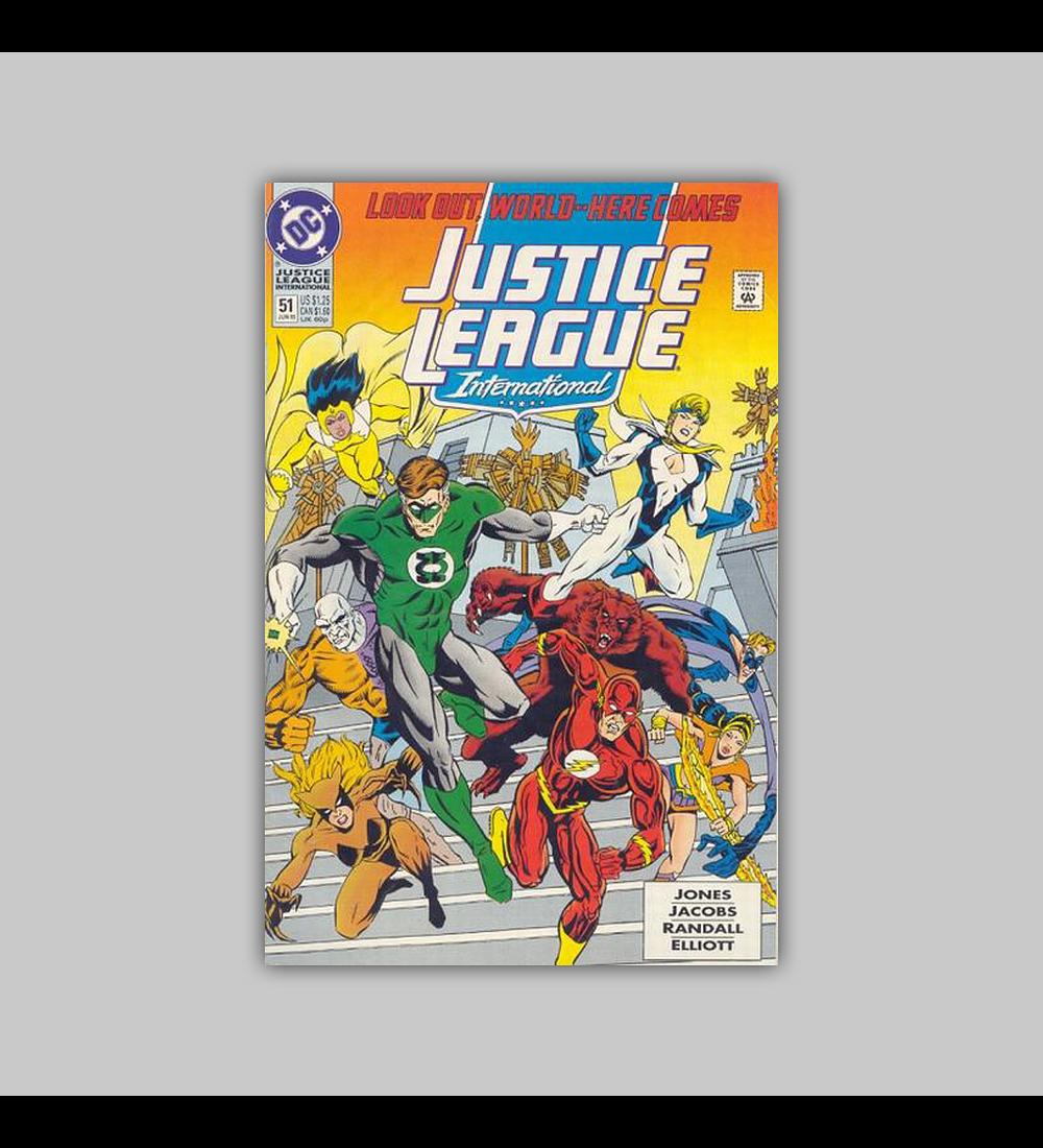 Justice League International 51 1993