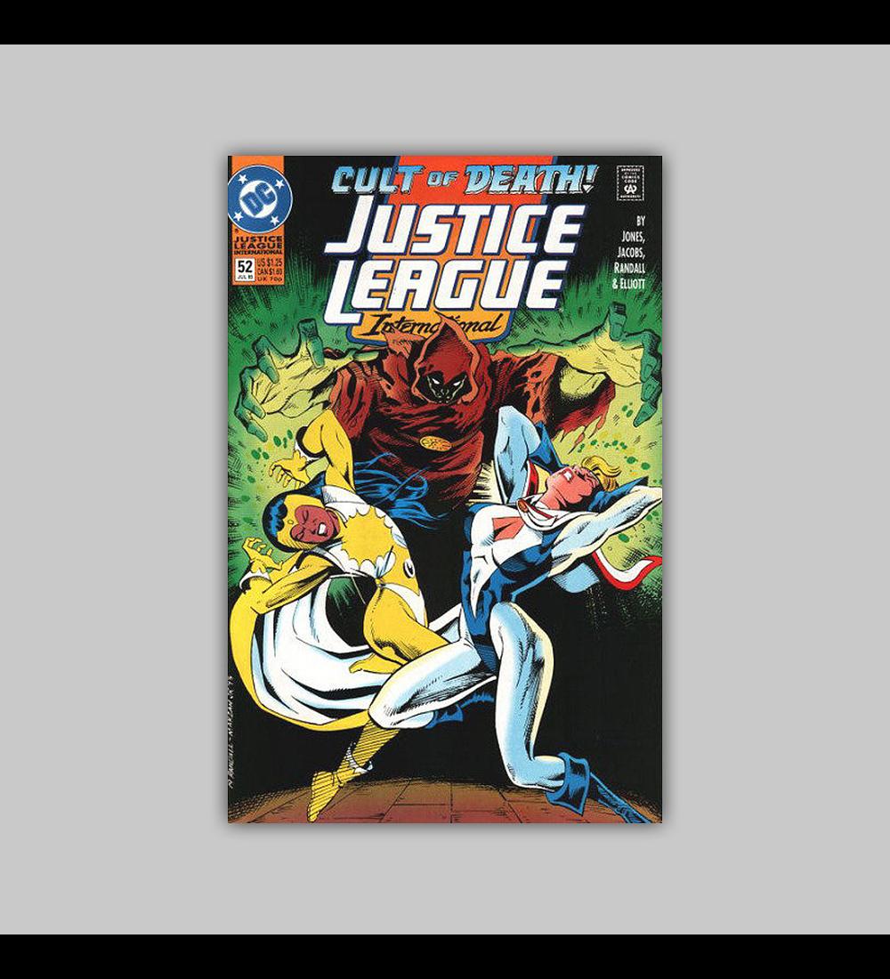 Justice League International 52 1993