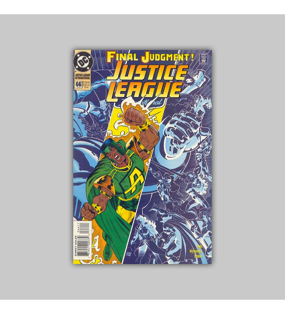 Justice League International 66 1994