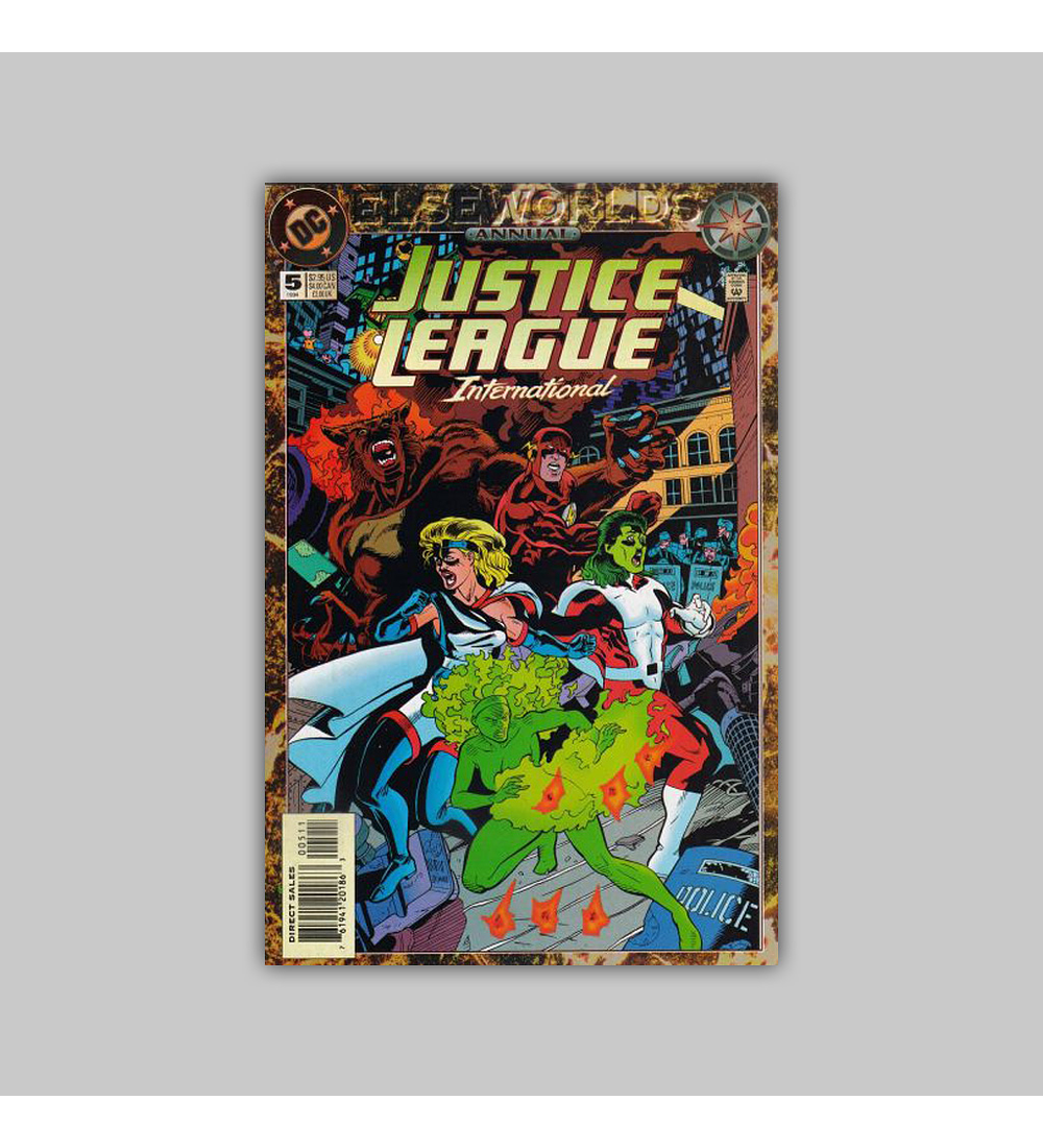 Justice League International Annual 5 1994