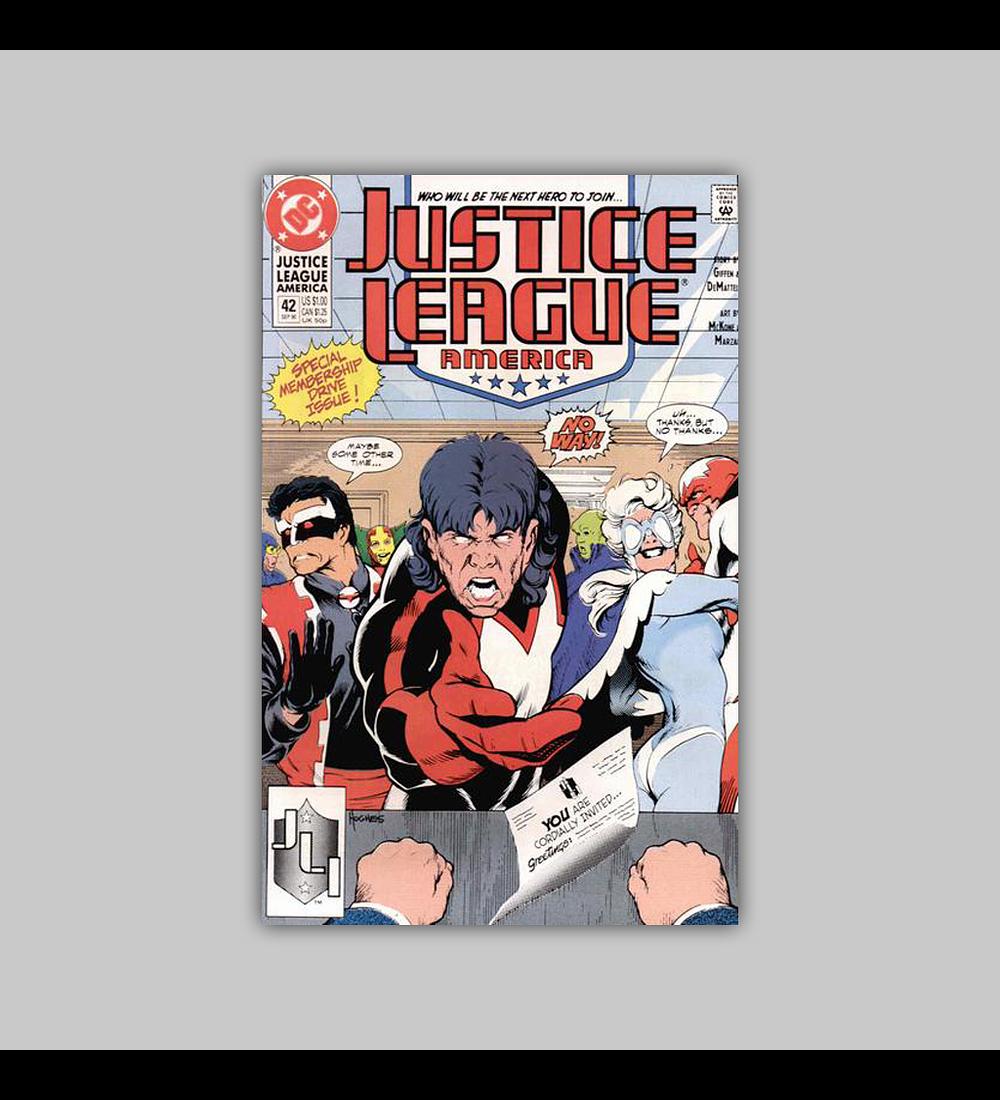 Justice League America 42 1990