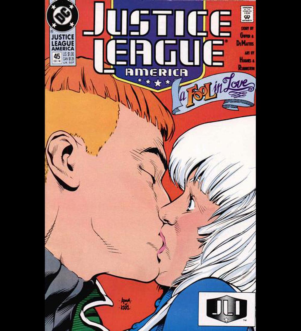 Justice League America 45 1990