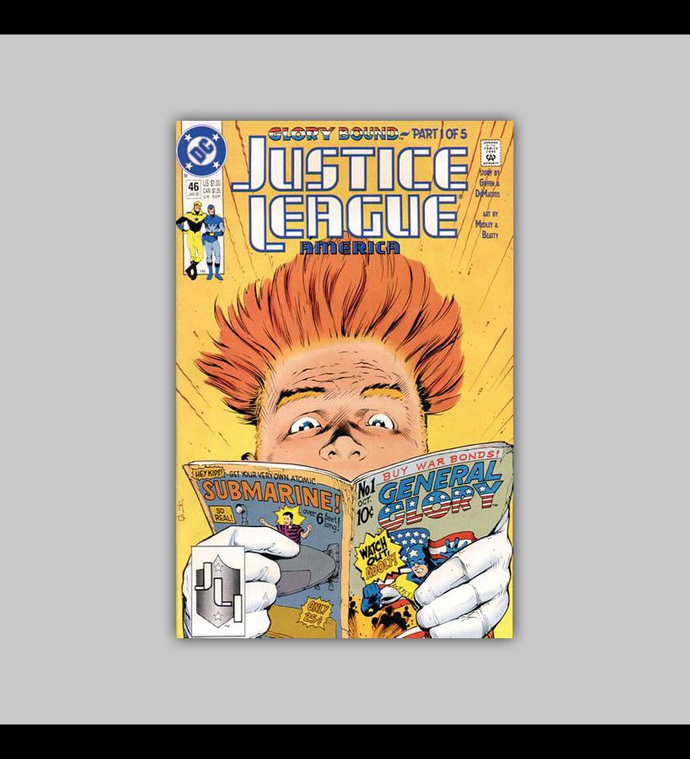 Justice League America 46 1991