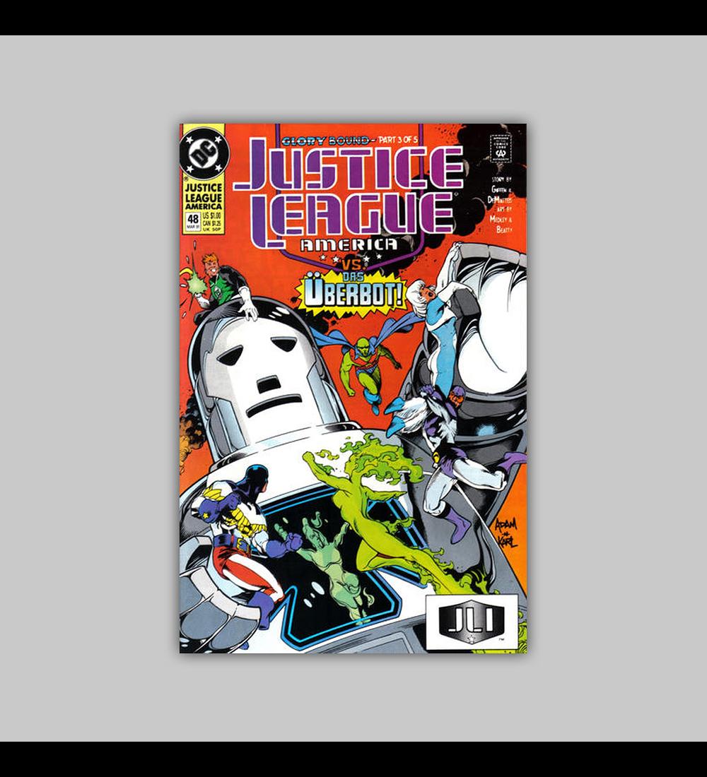 Justice League America 48 1991
