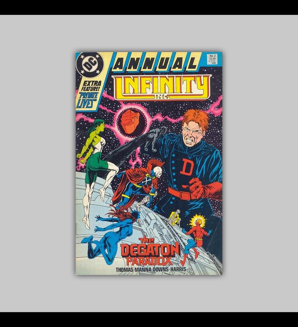 Infinity Inc. Annual 2 1988