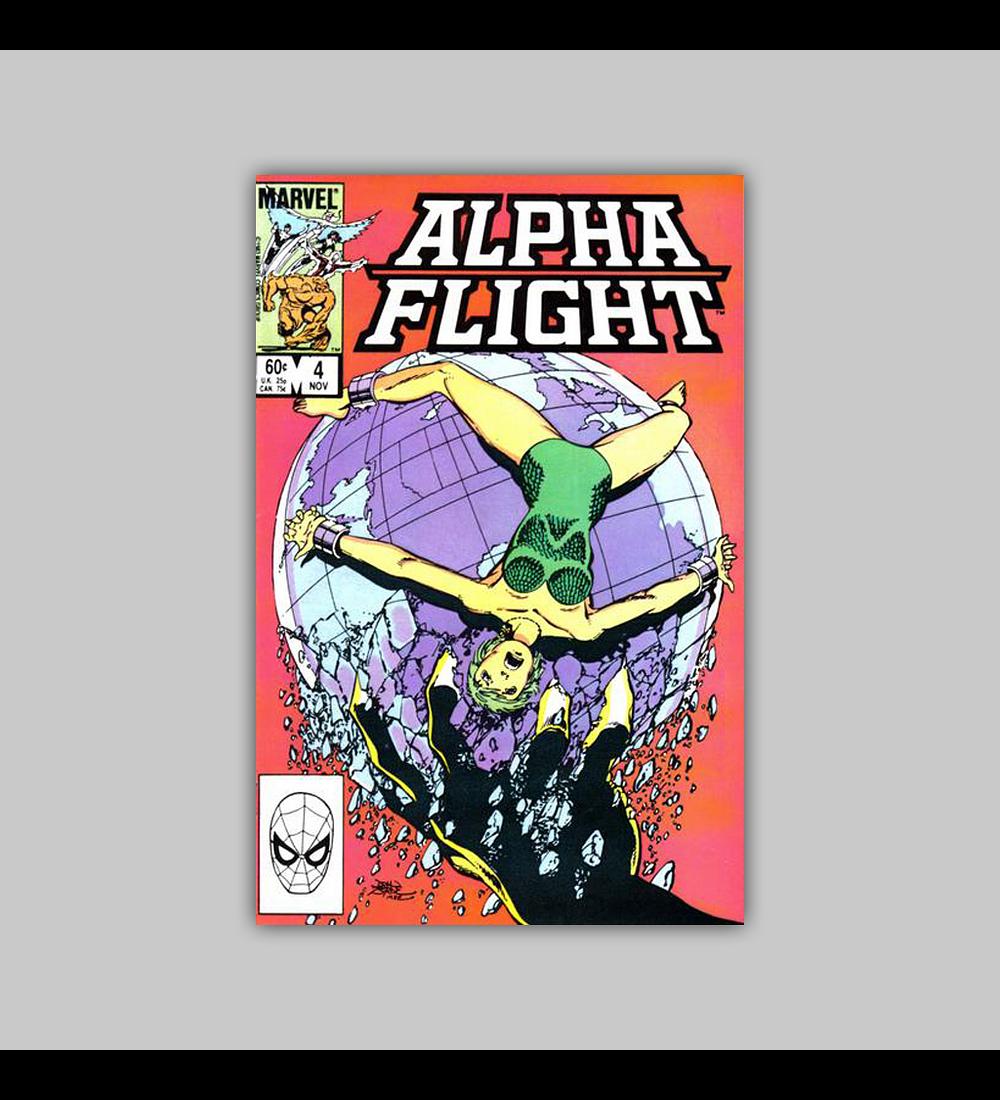 Alpha Flight 4 1983