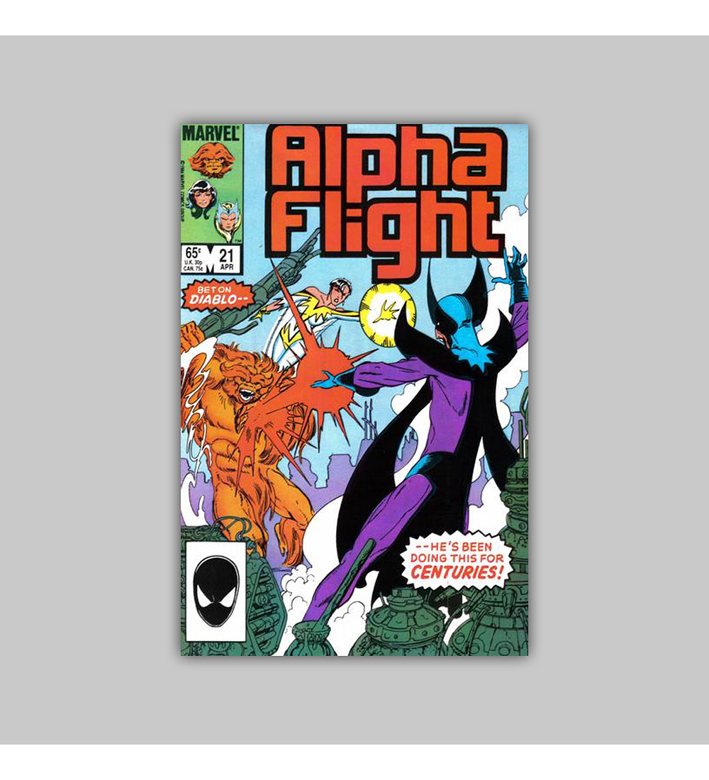 Alpha Flight 21 1985