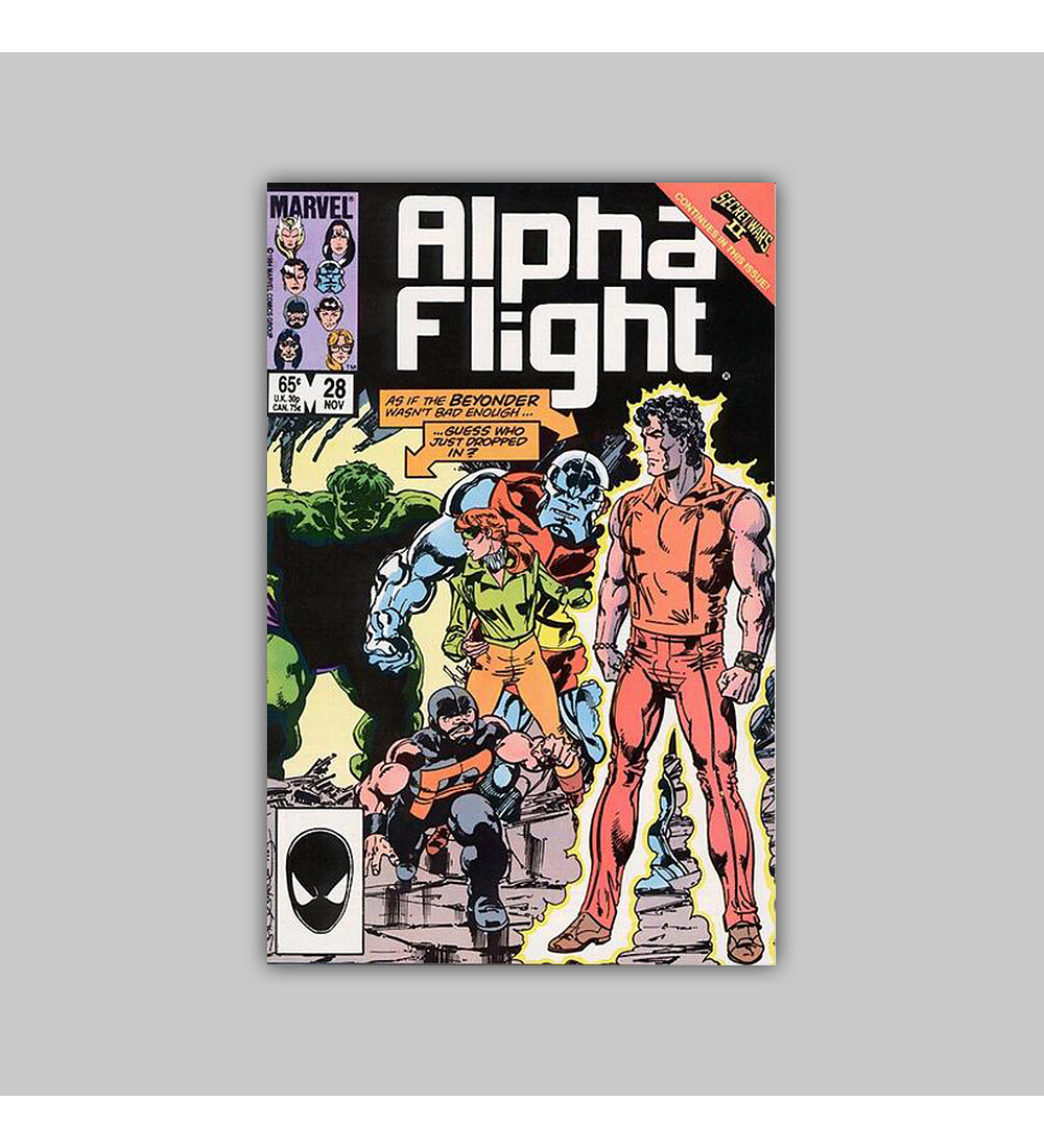 Alpha Flight 28 1985