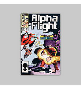 Alpha Flight 31 1986