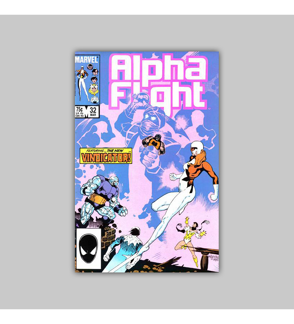Alpha Flight 32 1986