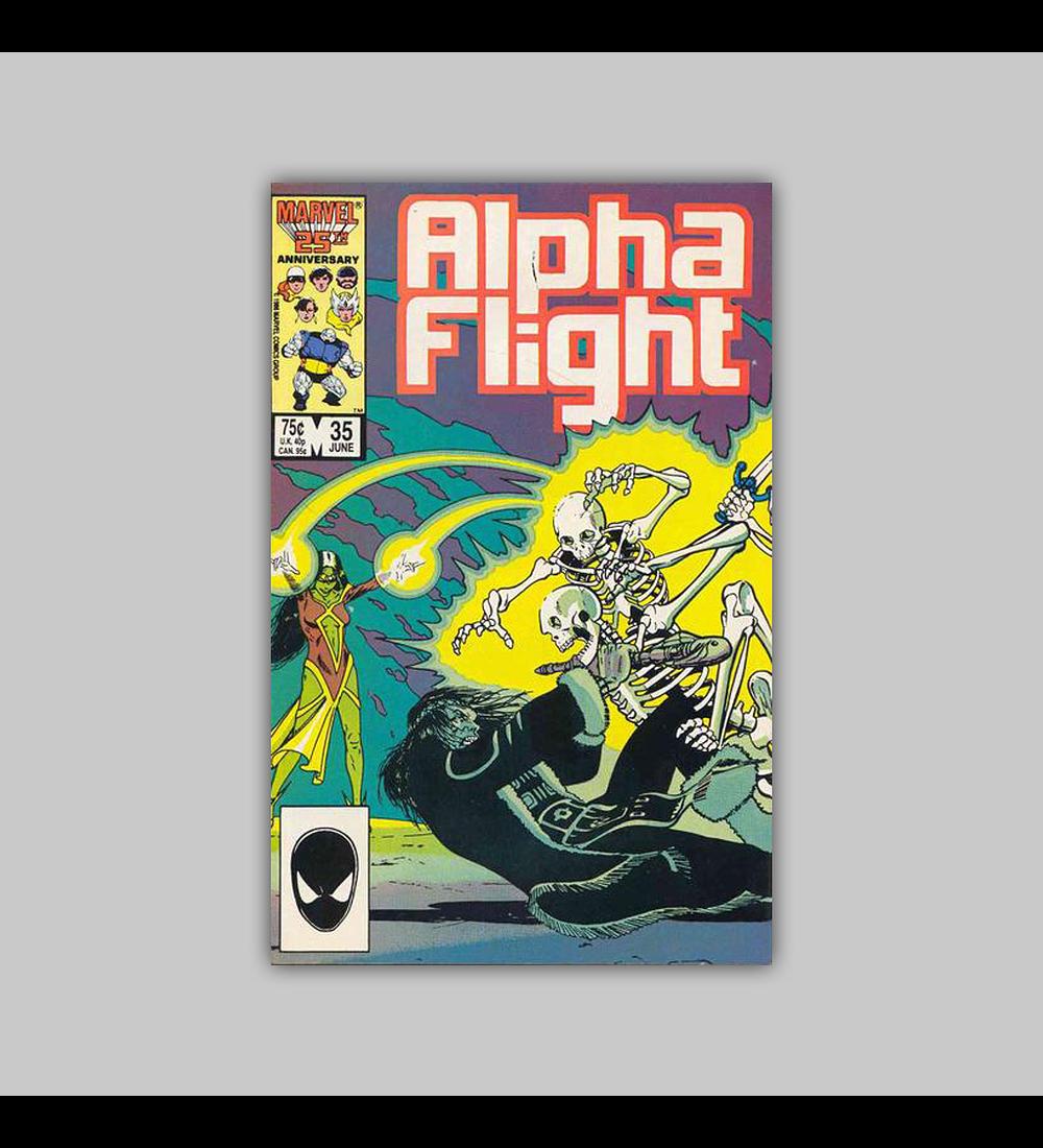 Alpha Flight 35 1986