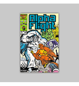 Alpha Flight 38 1986