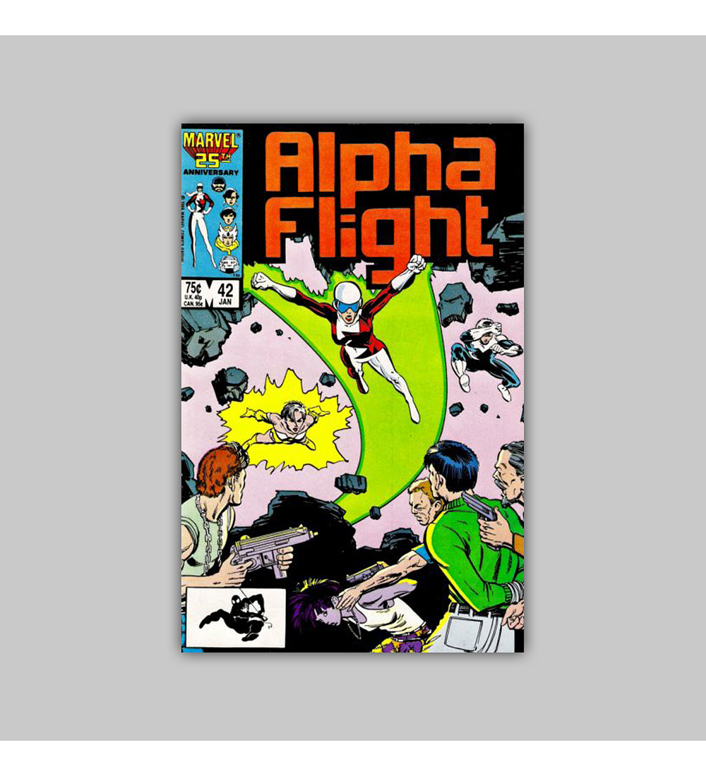 Alpha Flight 42 1987
