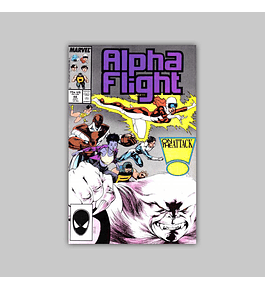 Alpha Flight 48 1987