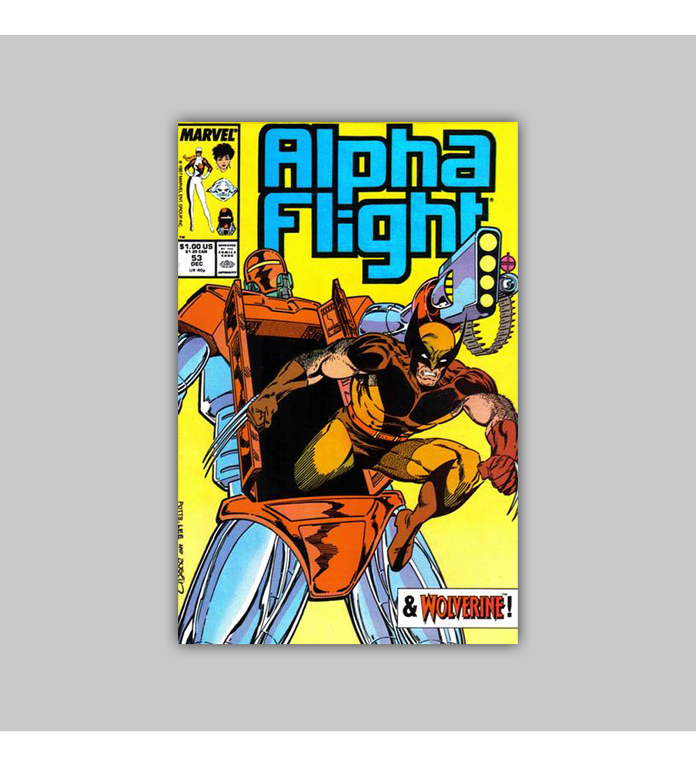 Alpha Flight 53 1987