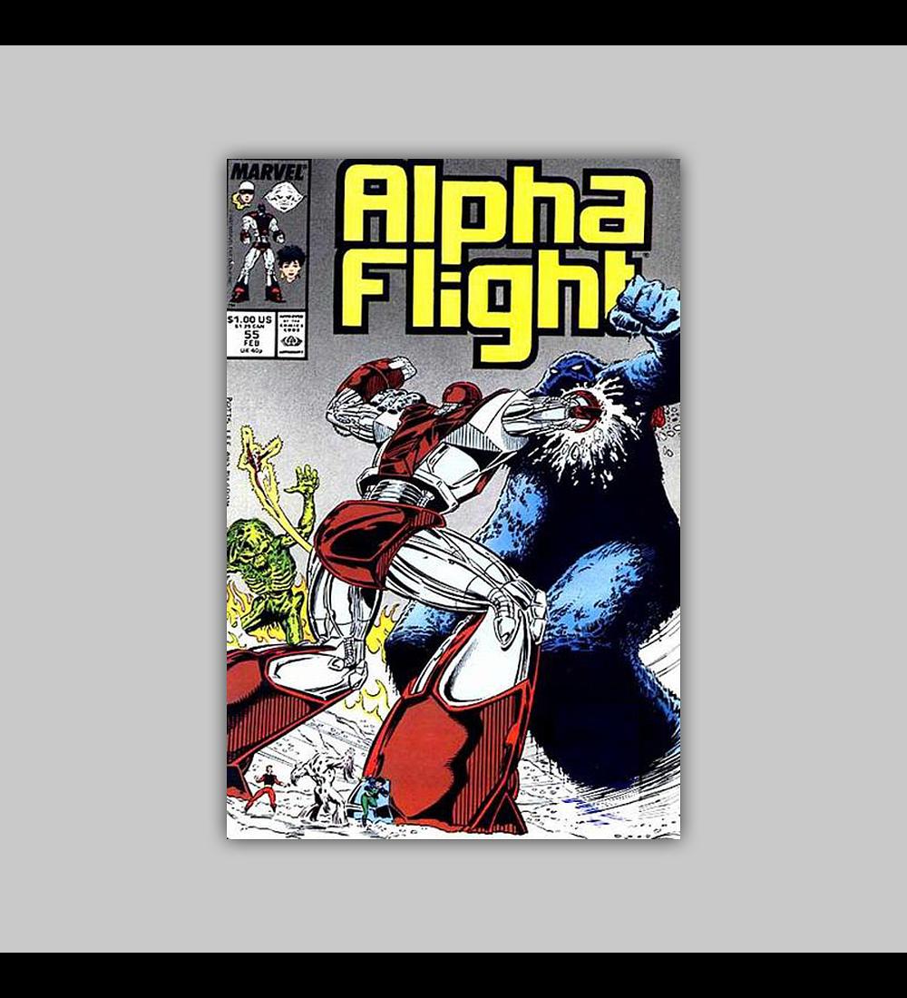 Alpha Flight 55 1988