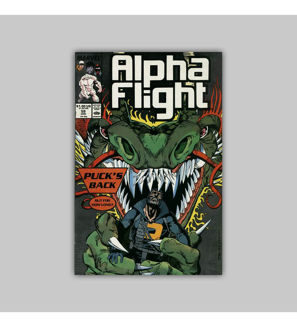 Alpha Flight 59 1988