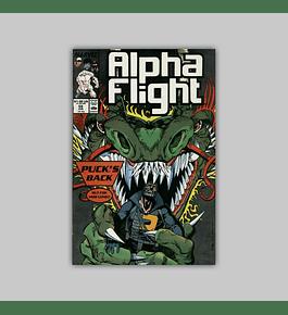 Alpha Flight 59 1988