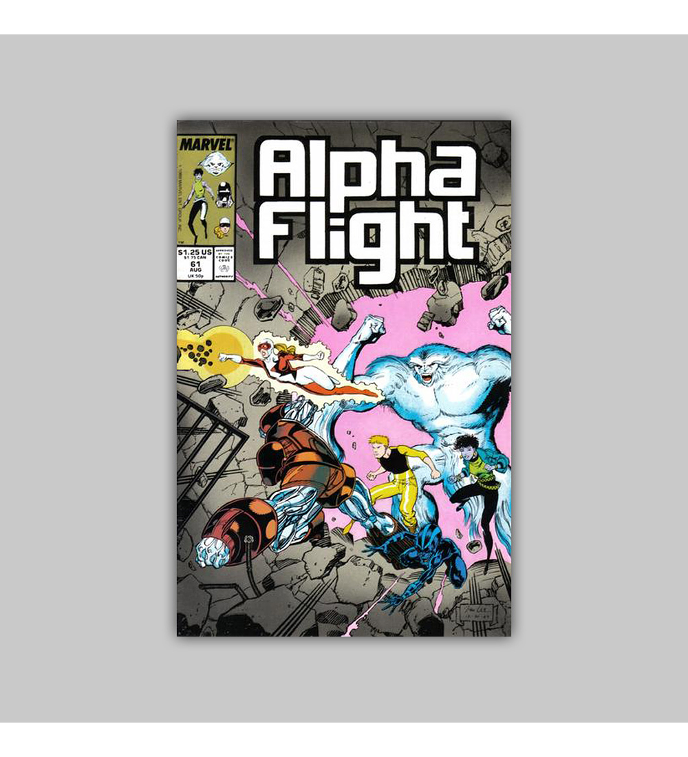 Alpha Flight 61 1988