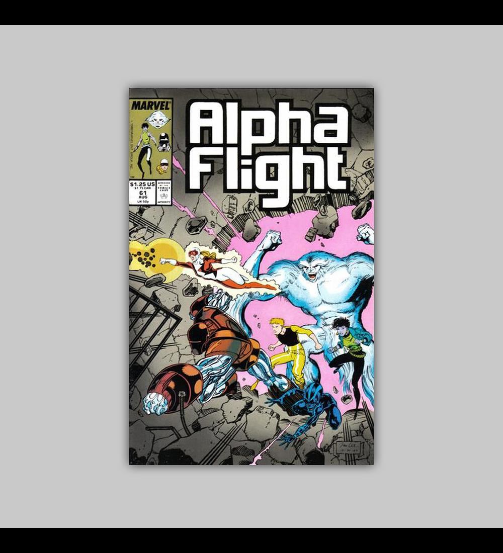 Alpha Flight 61 1988