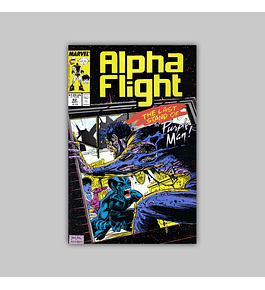 Alpha Flight 62 1988