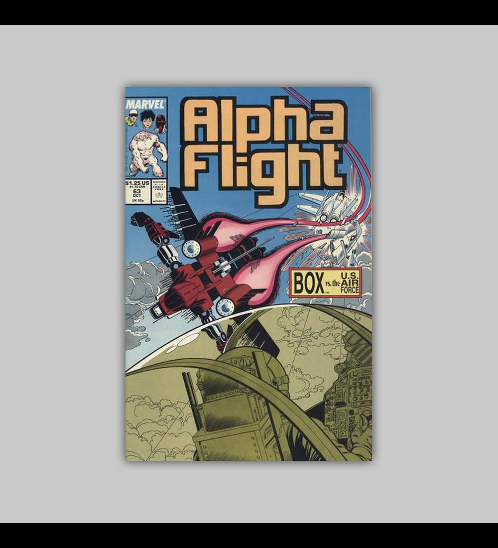 Alpha Flight 63 1988