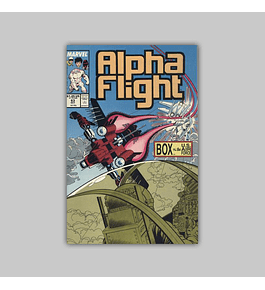Alpha Flight 63 1988