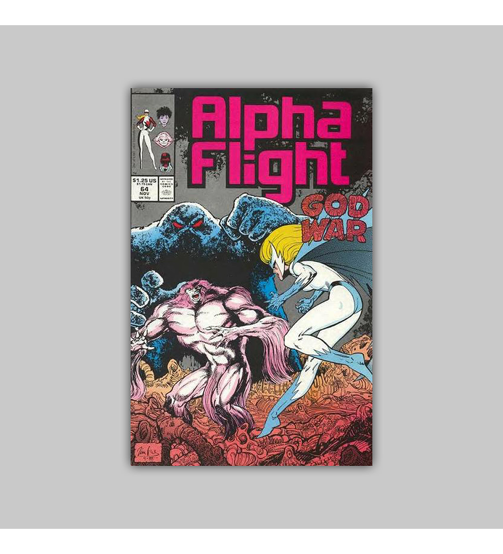 Alpha Flight 64 1988