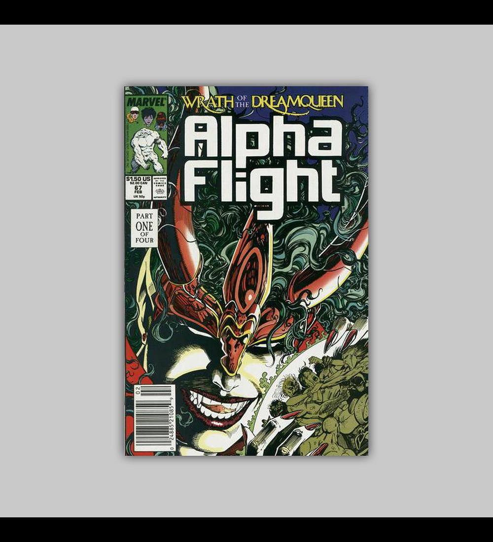Alpha Flight 67 1989