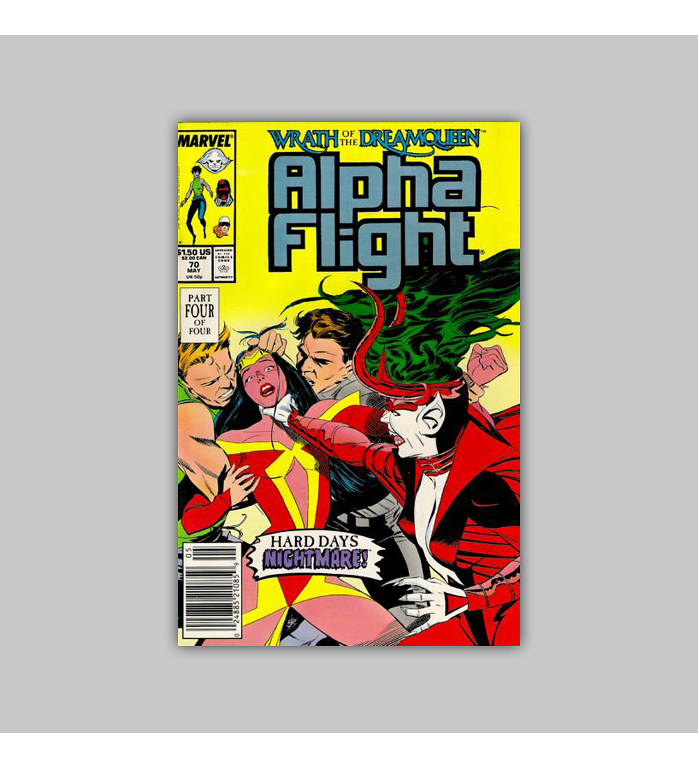 Alpha Flight 70 1989