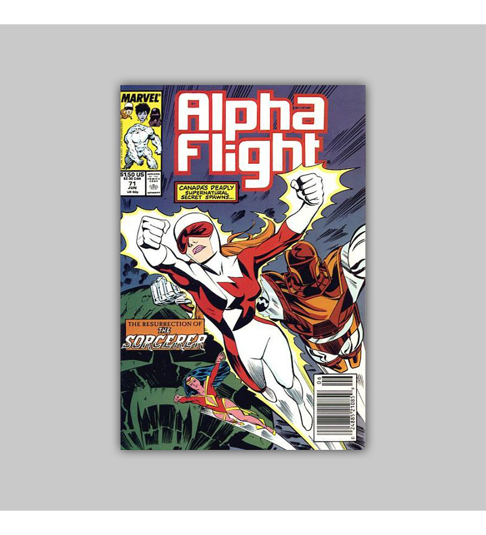 Alpha Flight 71 1989