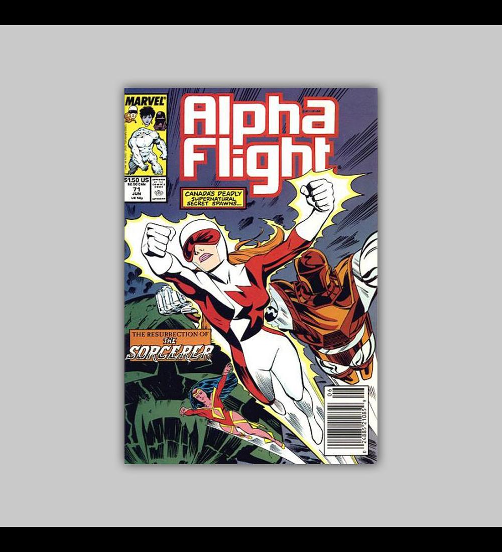 Alpha Flight 71 1989