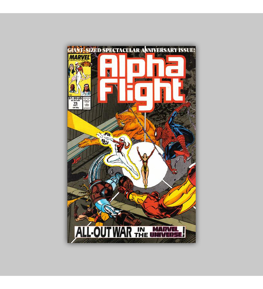 Alpha Flight 75 1989