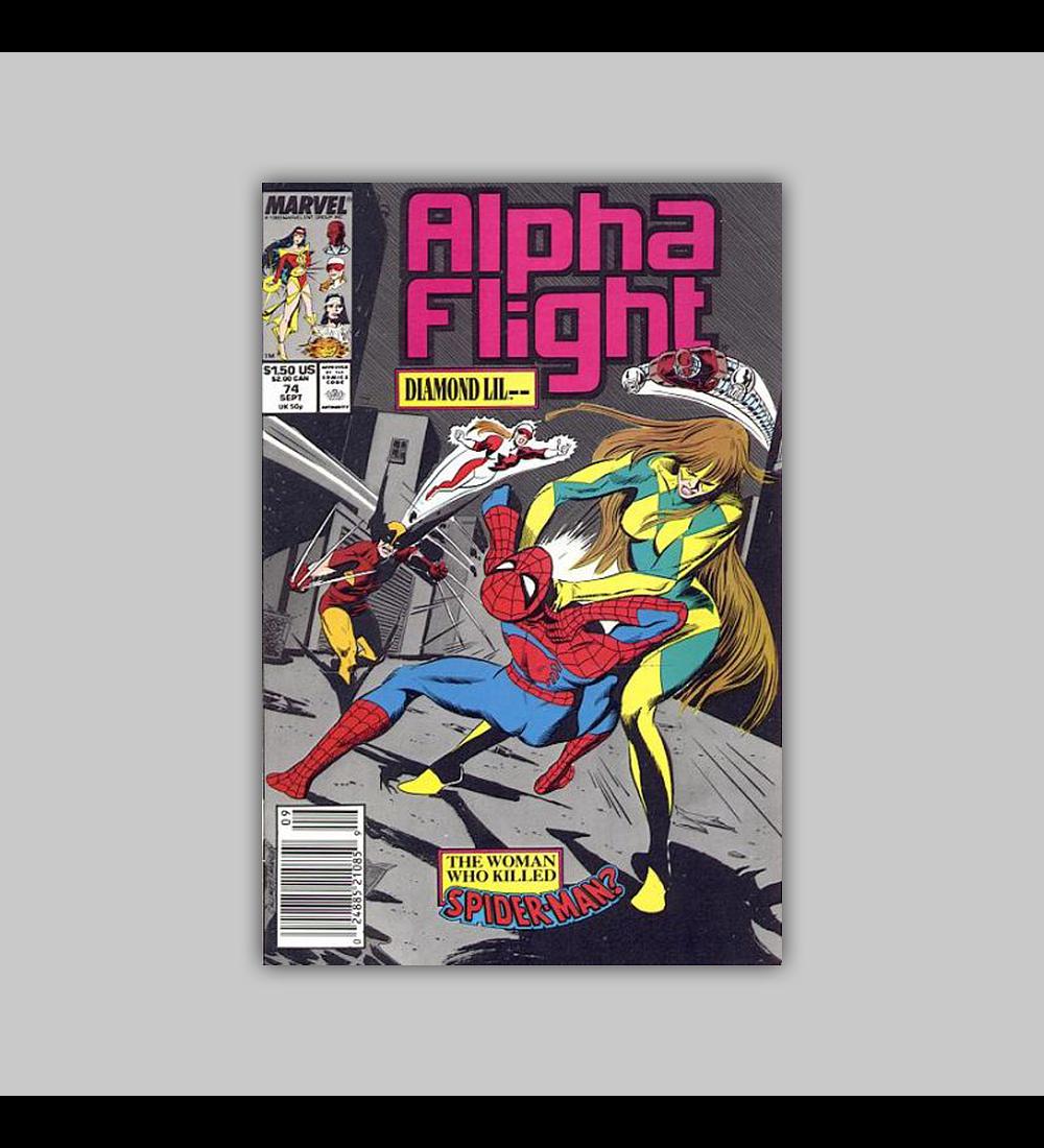 Alpha Flight 74 1989