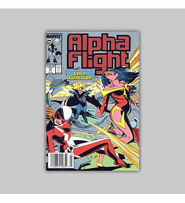 Alpha Flight 72 1989