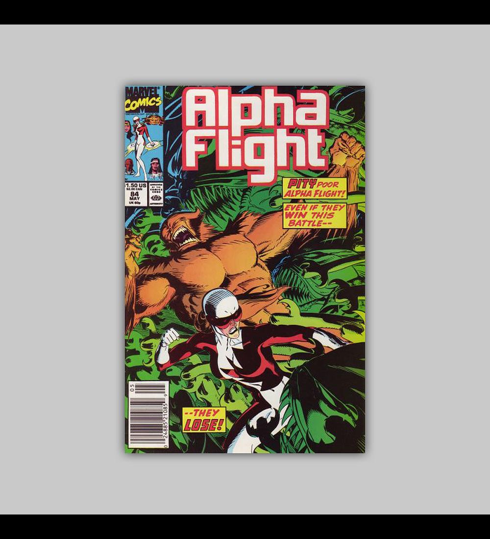 Alpha Flight 84 1990