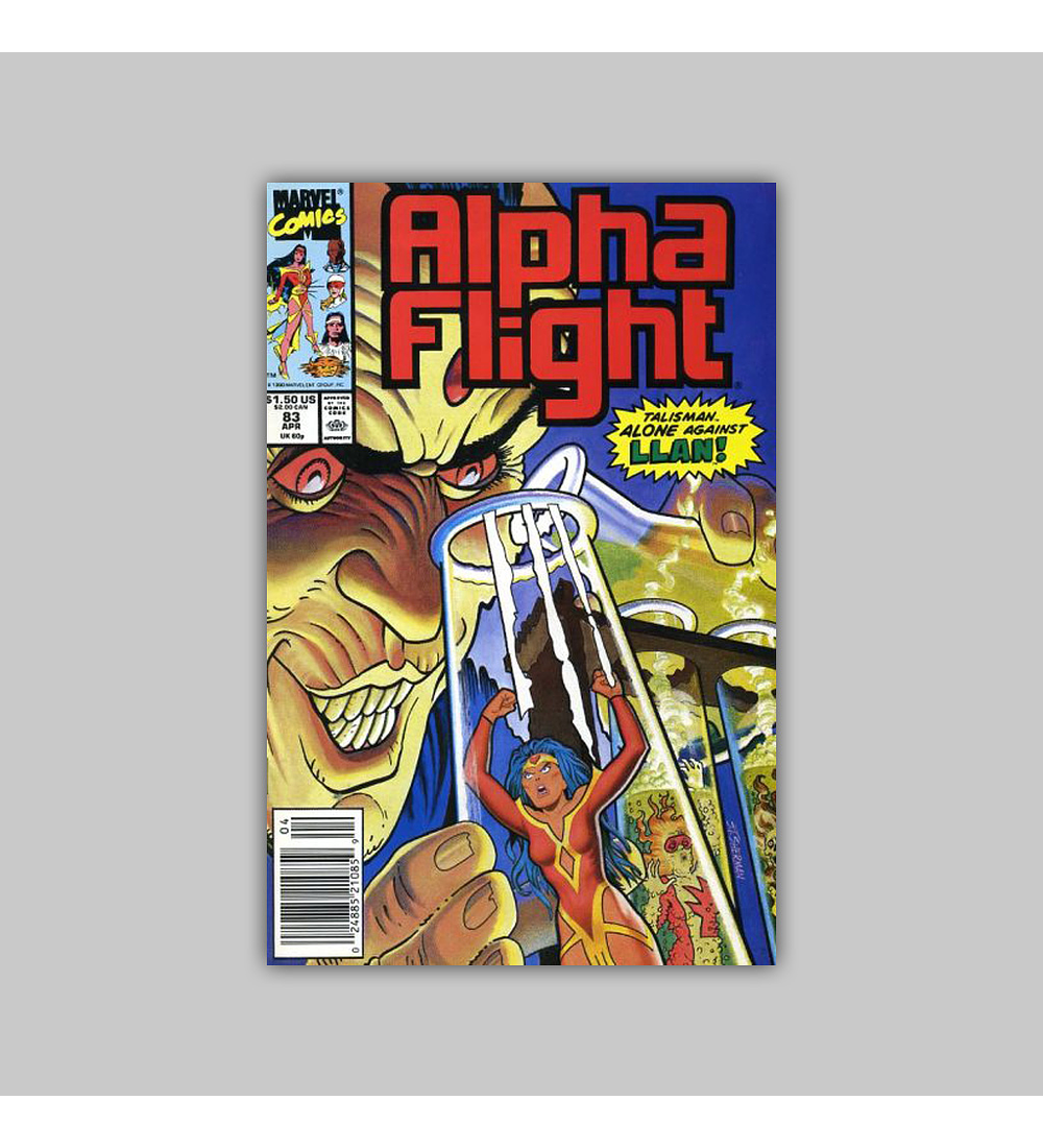 Alpha Flight 83 1990