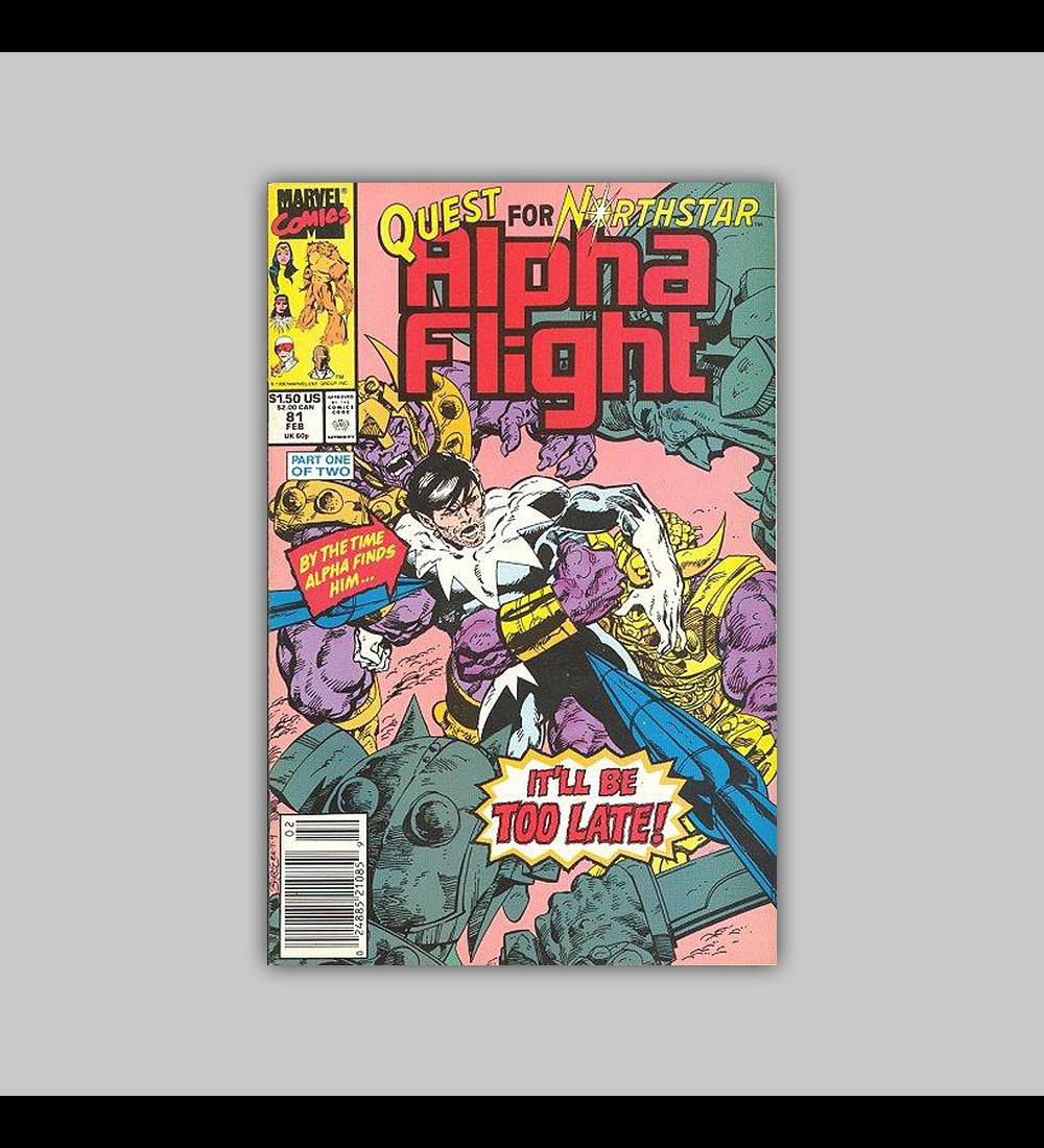 Alpha Flight 81 1990