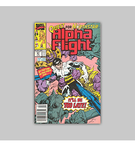 Alpha Flight 81 1990