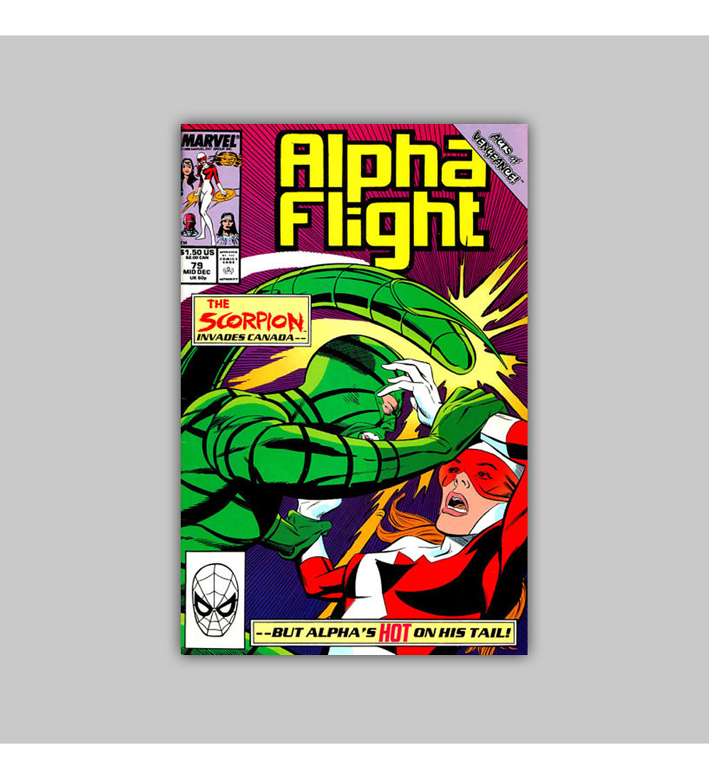 Alpha Flight 79 1989