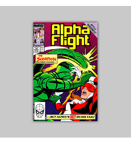 Alpha Flight 79 1989