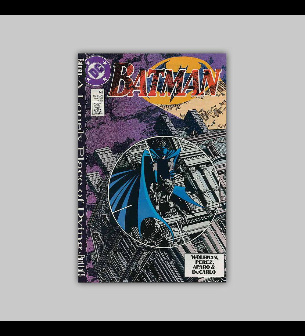 Batman 440 1989