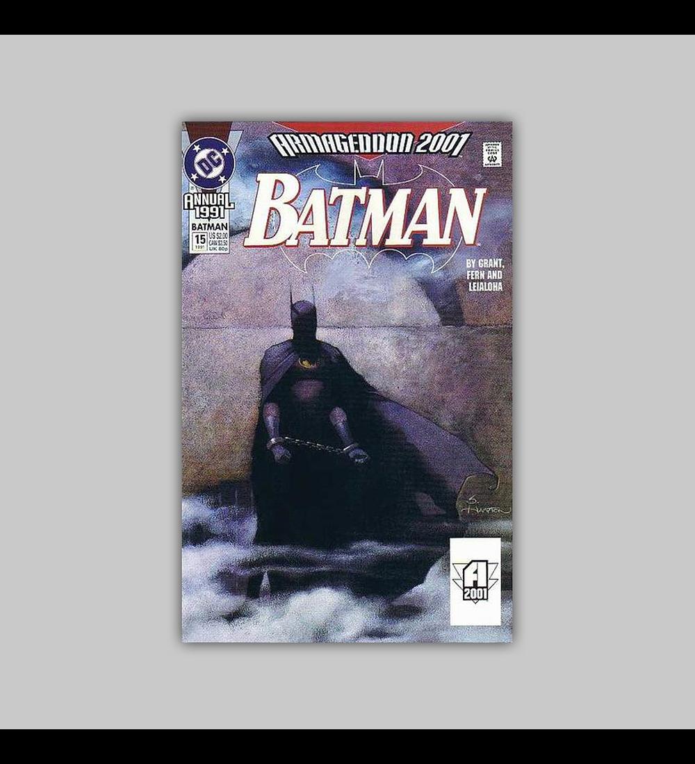 Batman Annual 15 1991