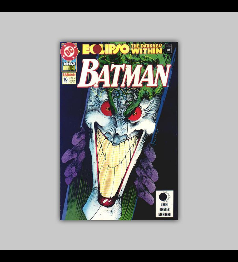 Batman Annual 16 1992
