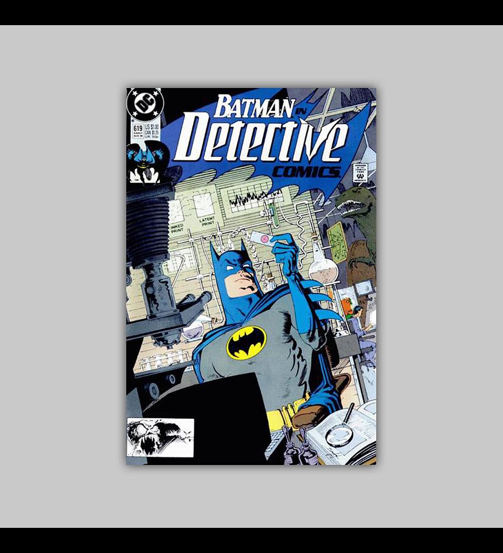 Detective Comics 619 1990