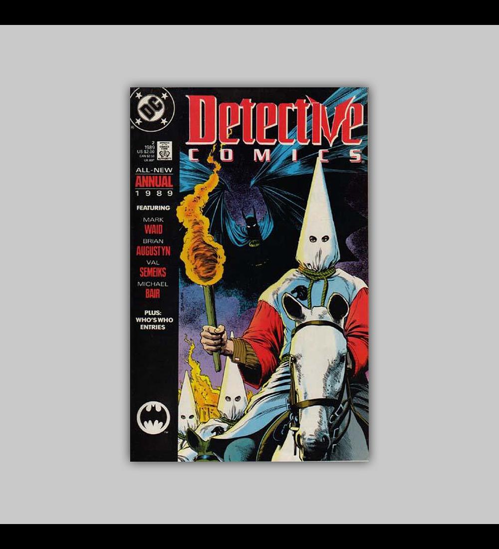 Detective Comics Annual 2 1989