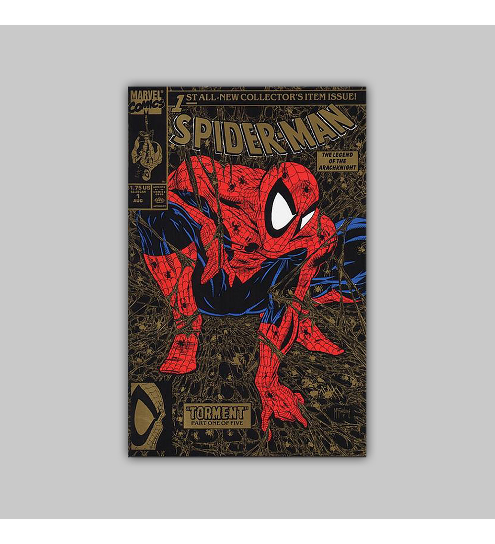 Spider-Man 1 Gold (2nd printing) 1990