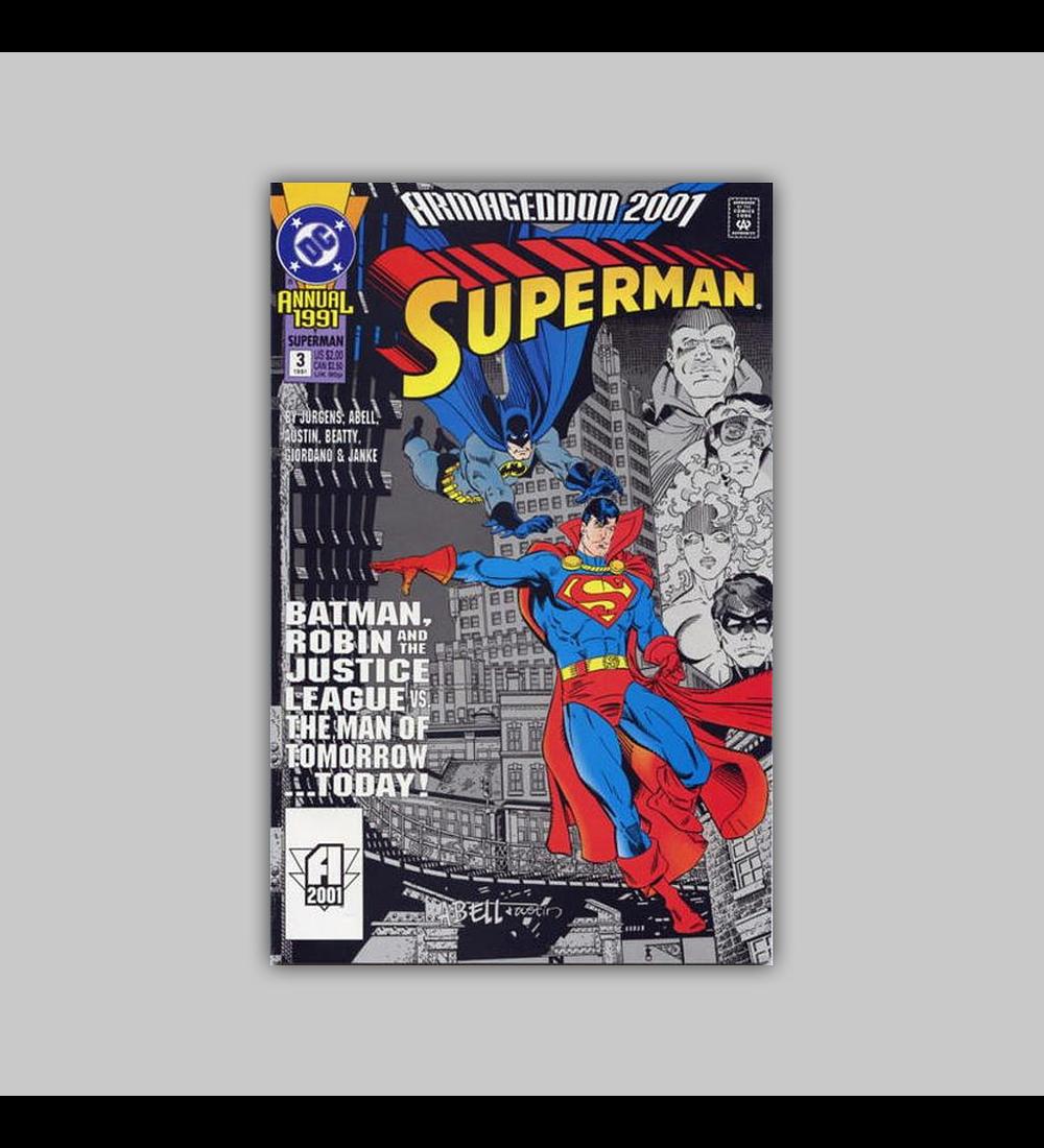 Superman Annual 3 1991